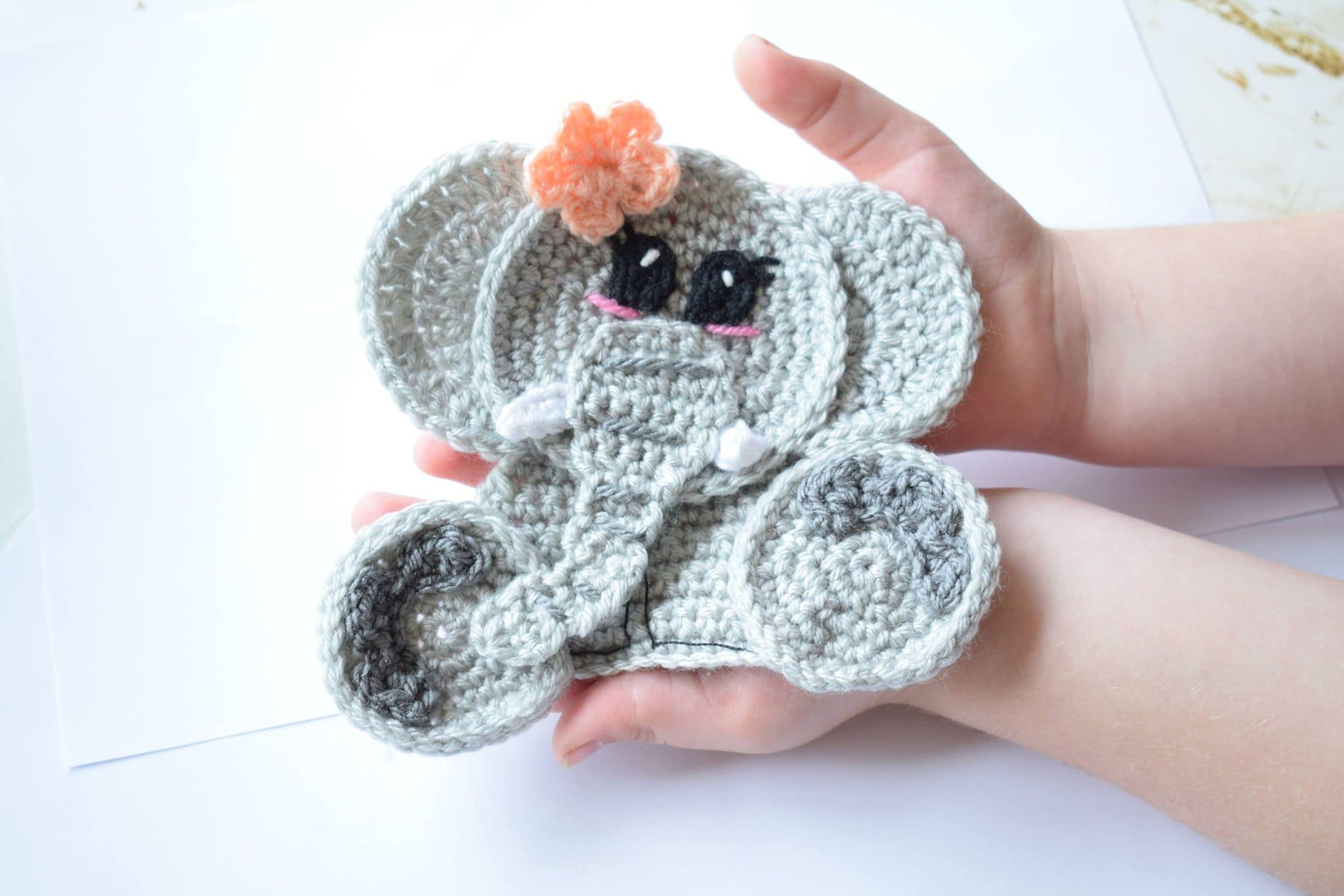 My Hobby Is Crochet: Polar Bear & Brown Bear Appliques - Free ... | 1365x2048
