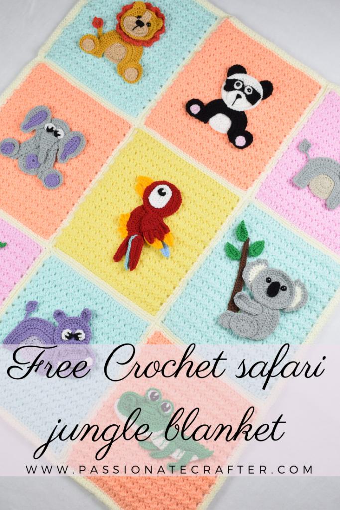 Free Crochet Pattern: Elephant Appliqué - Natalina Craft | 1024x683