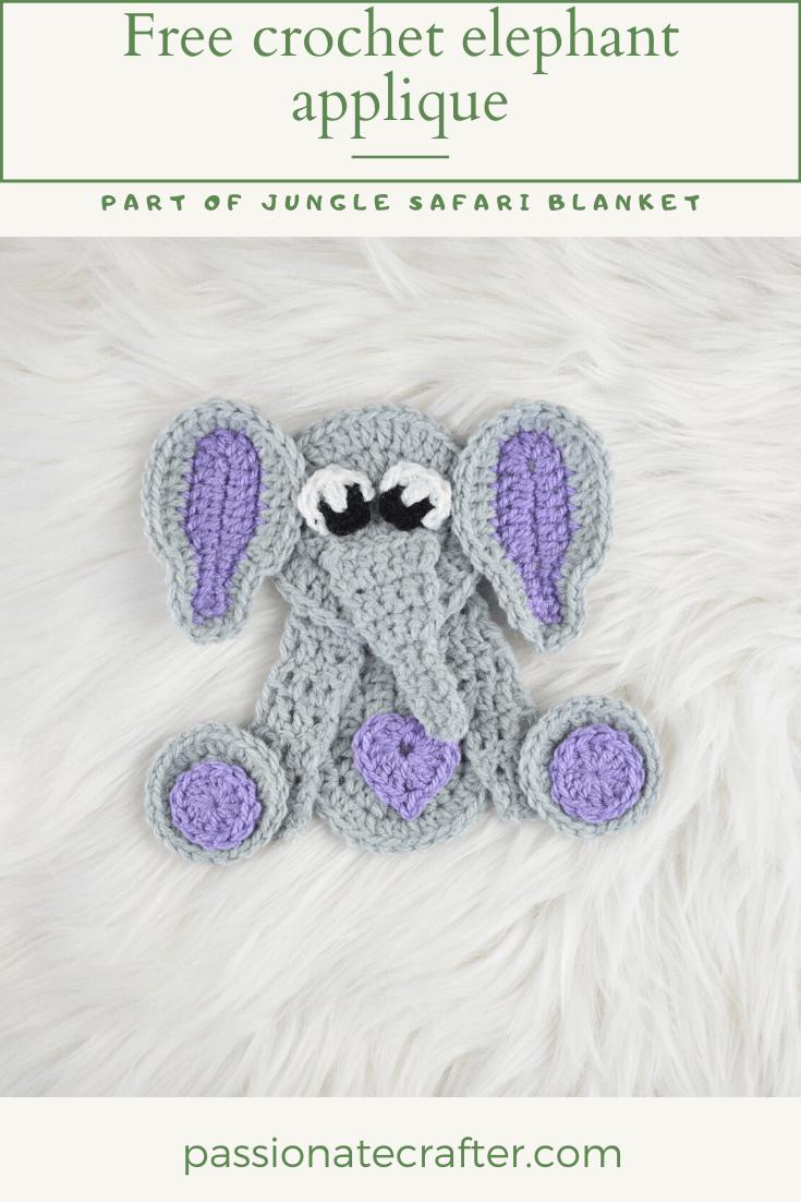 Amigurumi Crochet Elephant Pattern | Supergurumi | 1102x735
