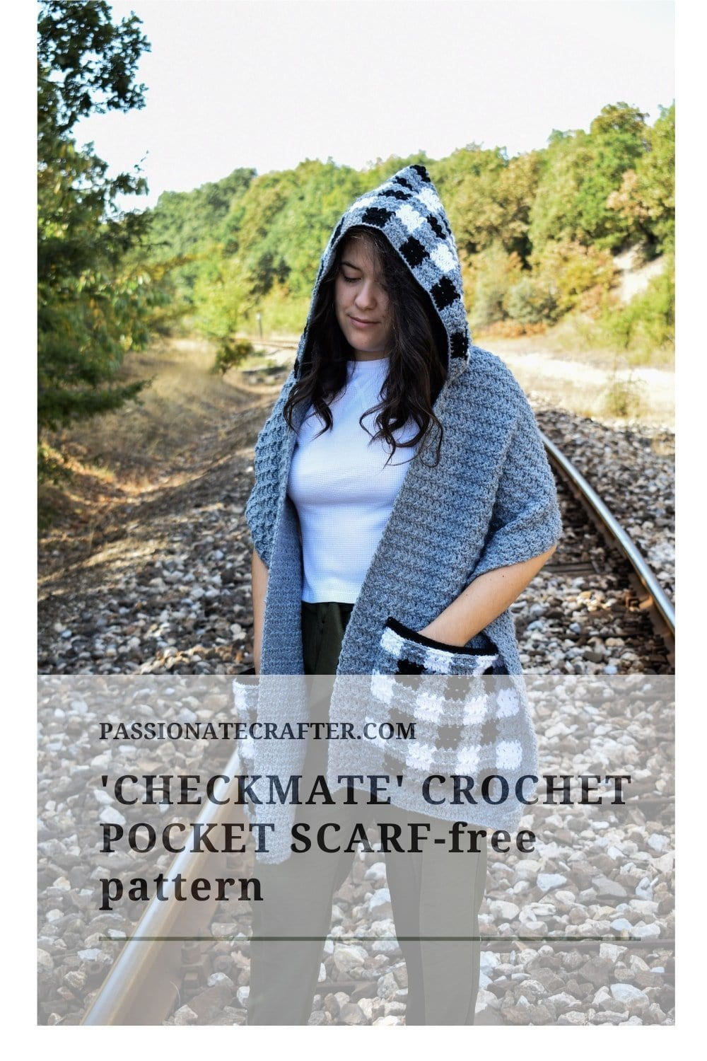 easy crochet pocket scarf pattern