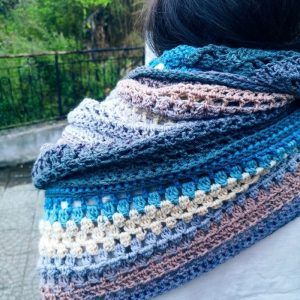 free crochet shawl pattern